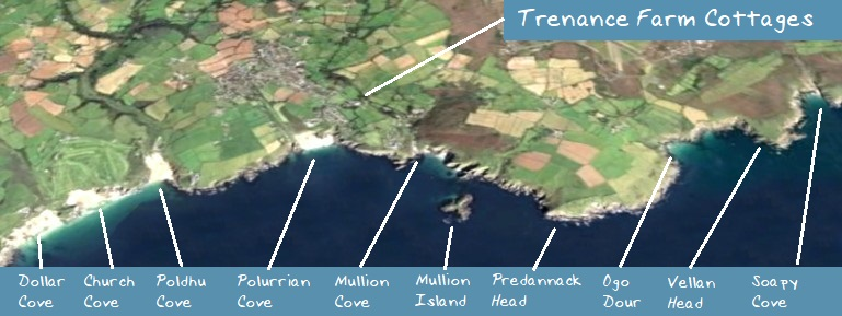 Areal View of Trenance